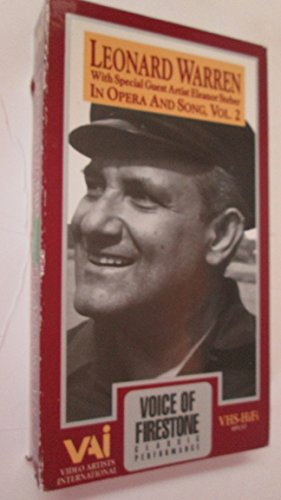 9786302121926: Leonard Warren In Opera & Song Volume 2 - from the Firestone Television Series [VHS]
