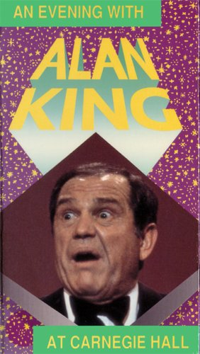 9786302131055: An Evening with Alan King at Carnegie Hall [VHS]