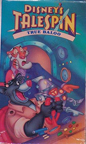 9786302132663: Talespin - True Baloo [VHS]