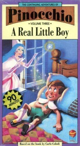 9786302174489: Pinocchio:a Real Little Boy Vol.3 [VHS]