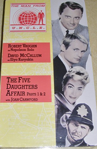 9786302181630: Man From U.N.C.L.E. - Vol. 7, The Five Daughters Affair (Parts 1 & 2) [VHS]