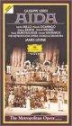 9786302238068: Verdi - Aida - The Metropolitan Opera/James Levine [VHS]