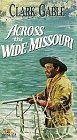 9786302241150: Across the Wide Missouri [VHS]