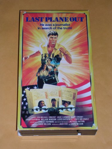 9786302246957: Last Plane Out [VHS]