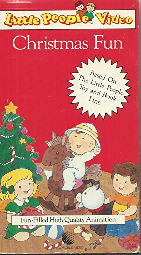 9786302246988: Little People:Christmas Fun [VHS]