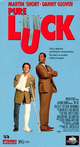9786302277760: Pure Luck [VHS]