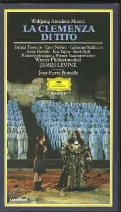 9786302281798: Mozart - La Clemenza di Tito [VHS]