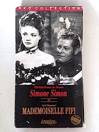 9786302326321: Mademoiselle Fifi [VHS]