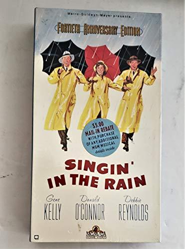 9786302336832: Singin' in the Rain - Fortieth Anniversary Edition [VHS]