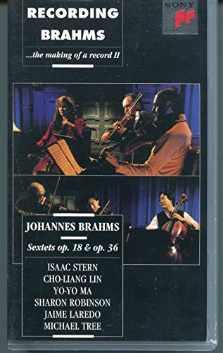 9786302352931: Recording Brahms, Sextets op. 18 & op. 36 - The Making of a Record II [VHS]