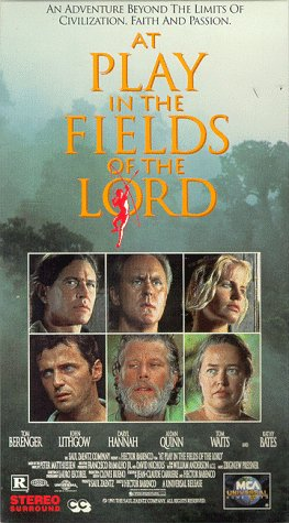 9786302359848: At Play in the Fields of the Lord [USA] [VHS]