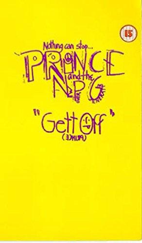 9786302371963: Prince:Gett Off [VHS]