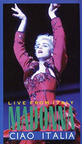 9786302373837: Madonna : Live from Italy, Ciao Italia [VHS]
