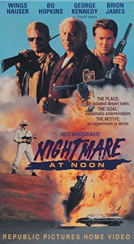 9786302406726: Nightmare at Noon [VHS]