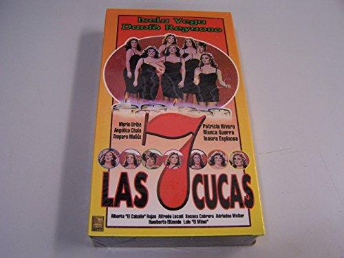 9786302424560: Las Siete Cucas (aka The Seven Nymphs) [VHS]
