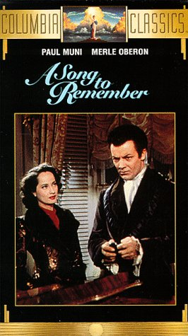 9786302425000: A Song to Remember [VHS]