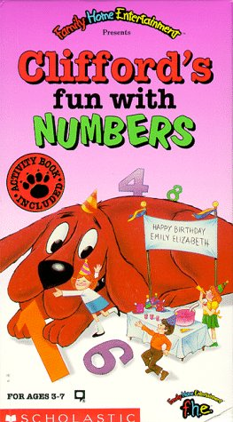 9786302462272: Clifford's Fun With Numbers [VHS]