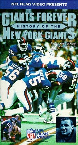 9786302462876: Giants Forever: History of the New York Giants [VHS]