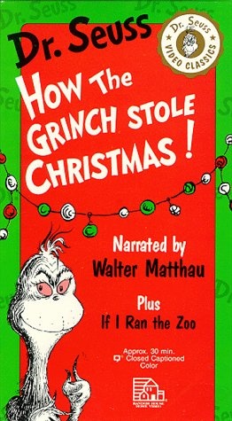 How the Grinch Stole Christmas!/If I Ran the Zoo: (Parents Choice Award for Multimedia) [VHS]