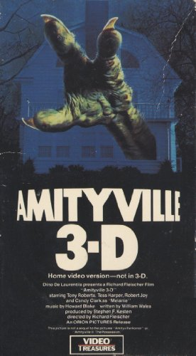 9786302468755: Amityville 3-D [VHS]