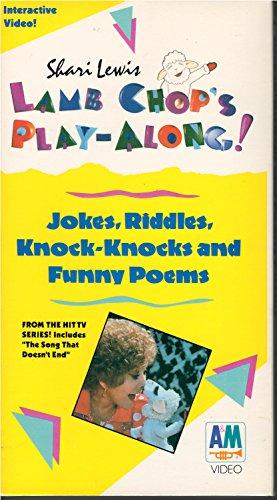 9786302480733: Lamb Chop's Play Along: Jokes, Riddles, Knock Knocks and Funny Poems [VHS]