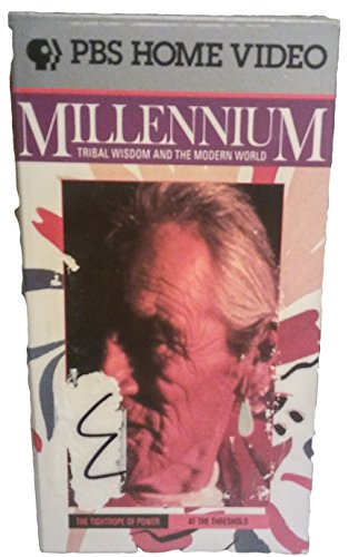 9786302502640: Millennium - Tribal Wisdom and The Modern World (The Tightrope of Power/At the Threshold) [VHS]