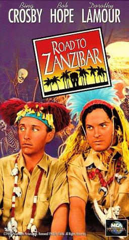 9786302510140: Road to Zanzibar [VHS]