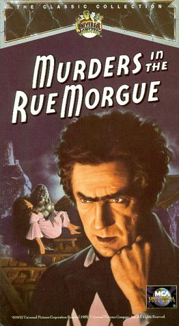 9786302526080: Murders in the Rue Morgue [VHS]