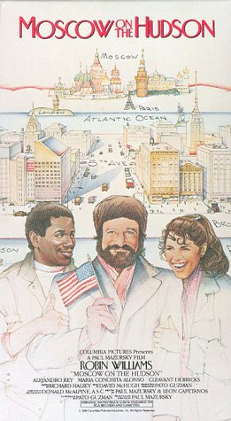 9786302538106: Moscow on the Hudson [VHS] [Import USA]