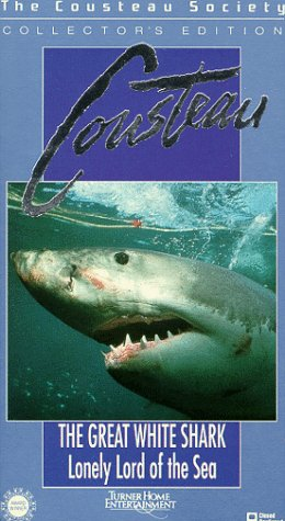 9786302544077: Cousteau - The Great White Shark: Lonely Lord of the Sea [VHS]
