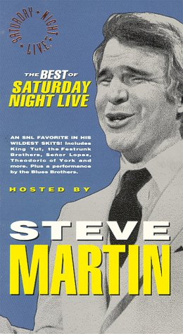 9786302559606: The Best of Saturday Night Live: Steve Martin [VHS]