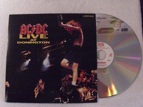 9786302600582: AC/DC Live At Donington Laser Disc