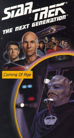 9786302610727: Star Trek - The Next Generation, Episode 19: Coming Of Age [VHS]
