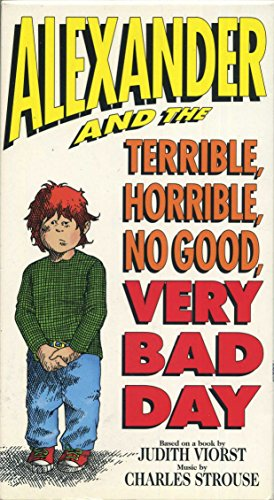 9786302637670: Alexander and the Terrible, Horrible, No Good, Very Bad Day [VHS]