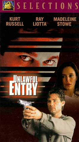 9786302640403: Unlawful Entry [VHS] [Import USA]