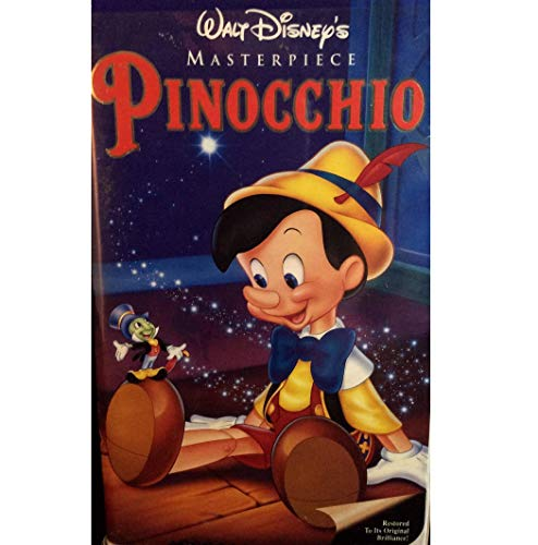 9786302642247: Pinocchio [USA] [VHS]