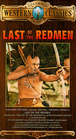 9786302682205: Last of the Redmen [VHS]