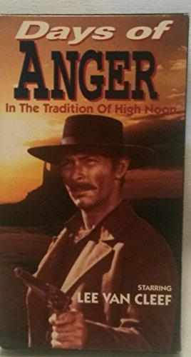 9786302682342: Days of Anger [VHS]