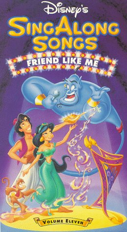 9786302712018: Disney Sing Along Songs: Friend Like Me [USA] [VHS]