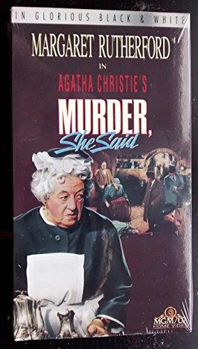 9786302715552: Murder, She Said [VHS]