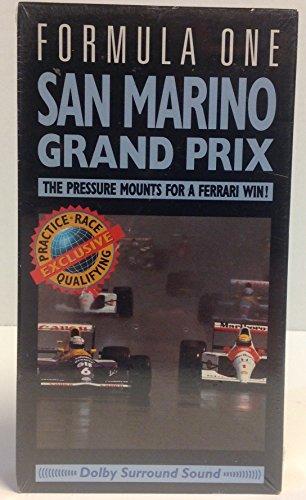 9786302728019: Formula One - San Marino Grand Prix [VHS]