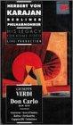 9786302728033: Verdi: Don Carlo (Karajan - His Legacy for Home Video) [VHS]
