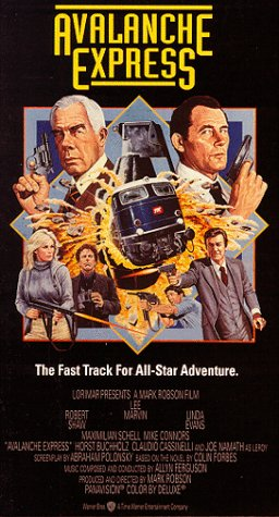 9786302732757: Avalanche Express [VHS] [Import USA]