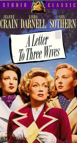9786302732962: Letter to Three Wives [VHS]