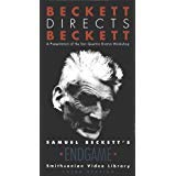 9786302744262: Beckett Directs Beckett [VHS]