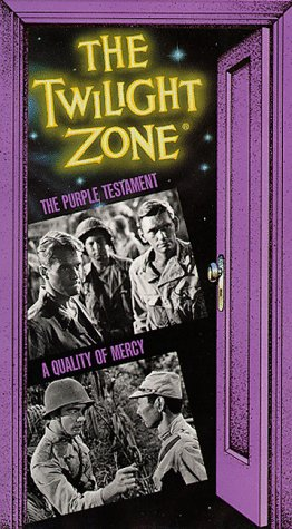 9786302756579: The Twilight Zone: The Purple Testament/ A Quality of Mercy [VHS]