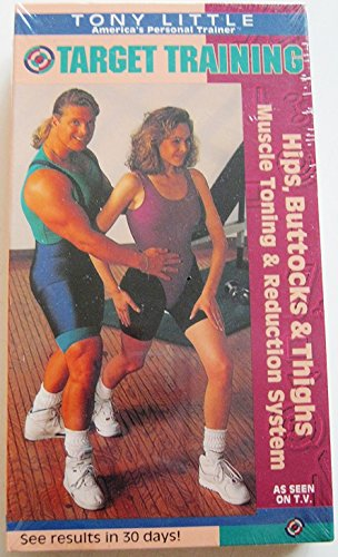 9786302768947: Tony Little - Target Training: Hips, Buttocks & Thighs [VHS]