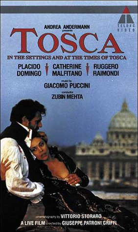 9786302779714: Puccini: Tosca - In the Settings and at the Times of Tosca [VHS]