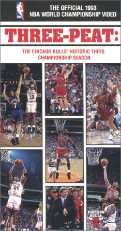 9786302796407: The Official 1993 NBA World Championship Video - Three-Peat: The Chicago Bulls' Historic Third Championship Season [VHS]