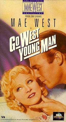 9786302798517: Go West Young Man [VHS]